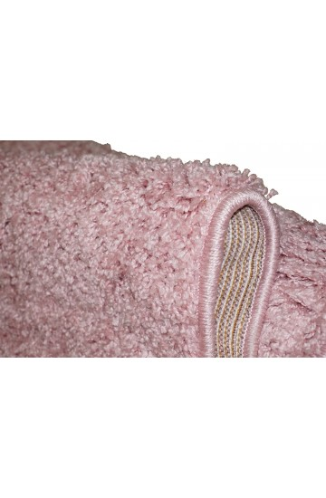 SHAGGY BRAVO 1 Pink/Pink