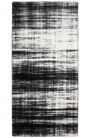 FIBER SHAGGY 1295A Black/D.Grey